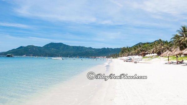 Những bãi biển đẹp, nổi tiếng tại Nha Trang