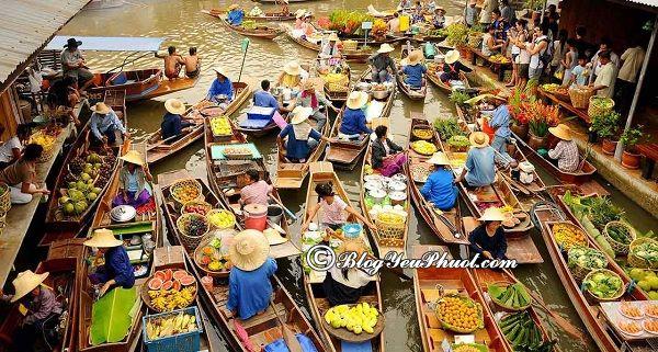 Cẩm nang khám phá chợ nổi Pattaya: Du lịch biển Pattaya đi đâu chơi?