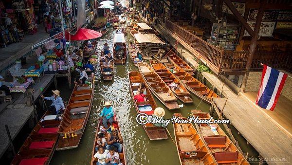 Chợ nổi bốn miền ở đâu? Địa điểm du lịch nổi tiếng ở gần biển Pattaya