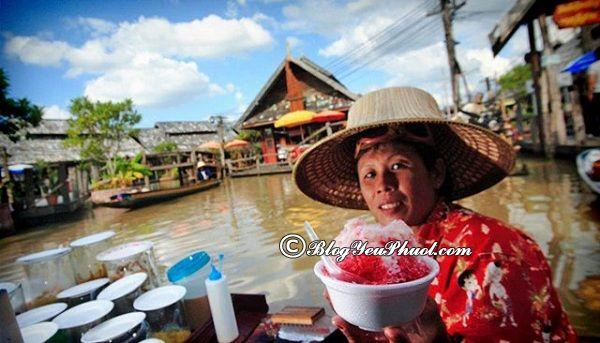 Chơi gì khi du lịch chợ nổi Pattaya? Du lịch Pattaya nên đi biển nào chơi?