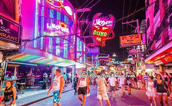 Địa điểm vui chơi về đêm thú vị ở pattaya: Nên đi đâu chơi buổi tối ở Pattaya?