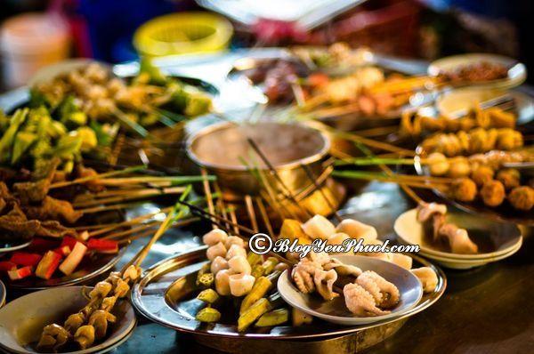 Những món ăn đường phố của Malaysia