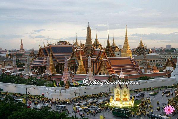Những ngôi chùa nổi tiếng nhất ở Bangkok: Địa chỉ những ngôi chùa đẹp, kiến trúc độc đáo ở Bangkok