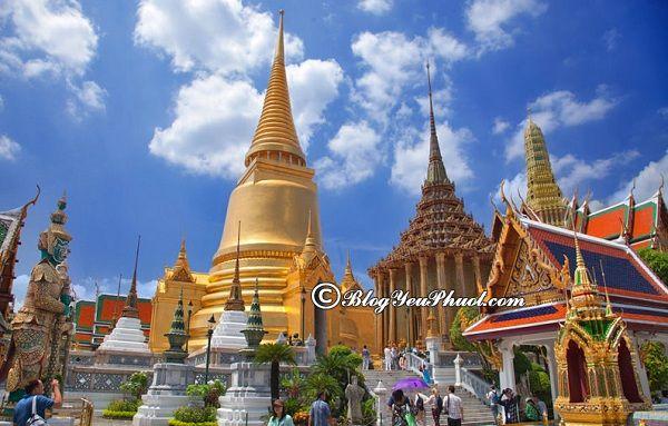 Những ngôi chùa nổi tiếng nhất ở Bangkok: Địa chỉ những ngôi chùa hấp dẫn, linh thiêng ở Bangkok