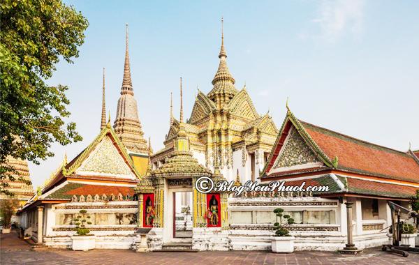 Những ngôi chùa nổi tiếng nhất ở Bangkok: Du lịch Bangkok nên đi tham quan chùa nào?