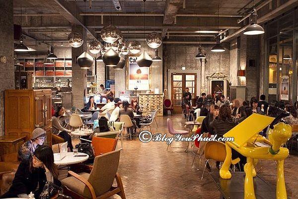 Những quán cafe lãng mạn tại Seoul: Du lịch Seoul đi đâu uống cafe?