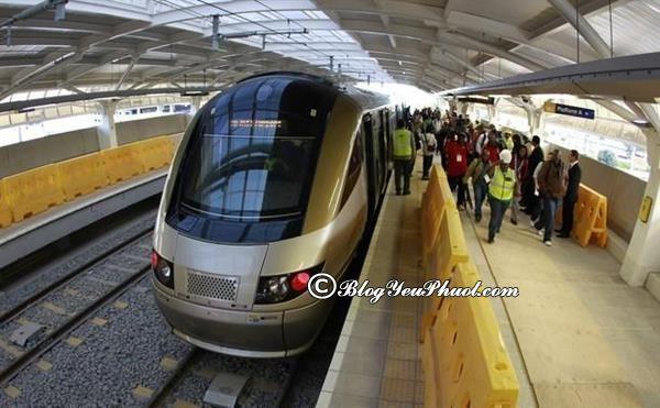 Phương tiện đi lại nào hiện đại nhất Singapore? Phương tiện di chuyển ở Singapore nhanh nhất