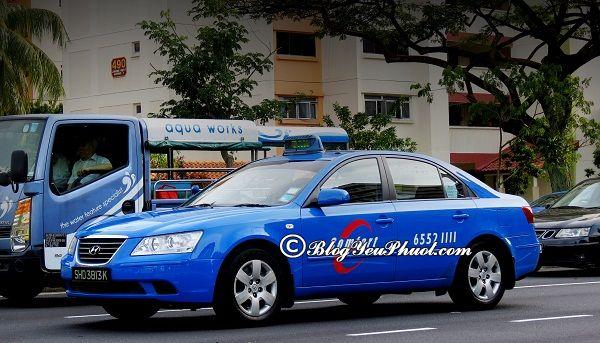 Phương tiện đi lại nào nhanh chóng nhất khi du lịch Singapore? Du lịch Singapore bằng xe gì nhanh, thuận tiện nhất?