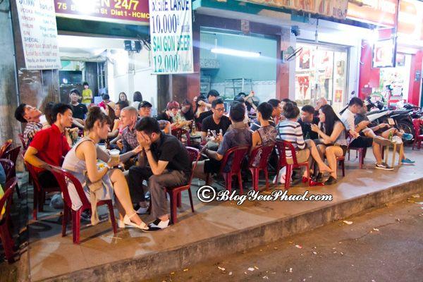 Quán ăn đêm ngon nhất ở Sài Gòn: Ăn đêm ở đâu Sài Gòn ngon, nổi tiếng?