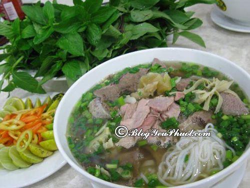 Địa chỉ ăn phở đêm đúng chất Hà Nội tại sài Gòn: Quán ăn khuya ngon, giá bình dân ở Sài Gòn