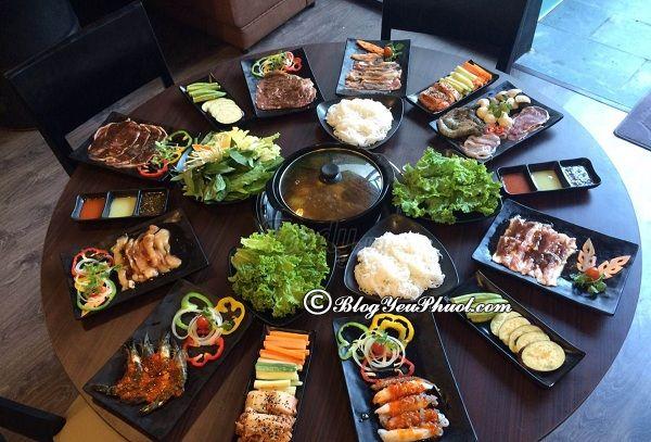 Ăn món ăn Hàn Quốc ở đâu tại Đà Nẵng? Địa chỉ các quán ăn Hàn Quốc giá rẻ, nổi tiếng ở Hàn Quốc
