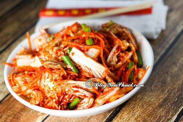 Quán ăn đồ Hàn Quốc ngon nhất Đà Nẵng