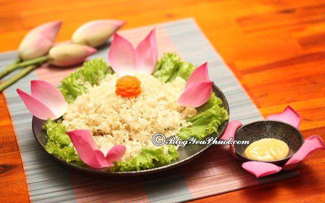 Quán chay ngon nổi tiếng nằm trên đường Lê Thanh Nghị, quận Hải Châu: Đường Lê Thanh Nghị, quận Hải Châu có quán ăn nào ngon, bổ, rẻ?