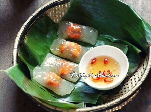 Quán bánh bèo, bánh nậm, bánh lọc ngon ở Đà Nẵng: Đà Nẵng có quán bánh bèo, bánh nậm, bánh lọc nào ngon, bổ, rẻ?