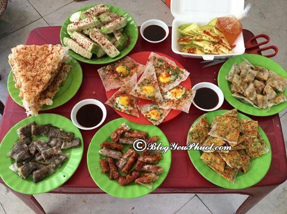 Quán bánh tráng kẹp nổi tiếng tại Đà Nẵng