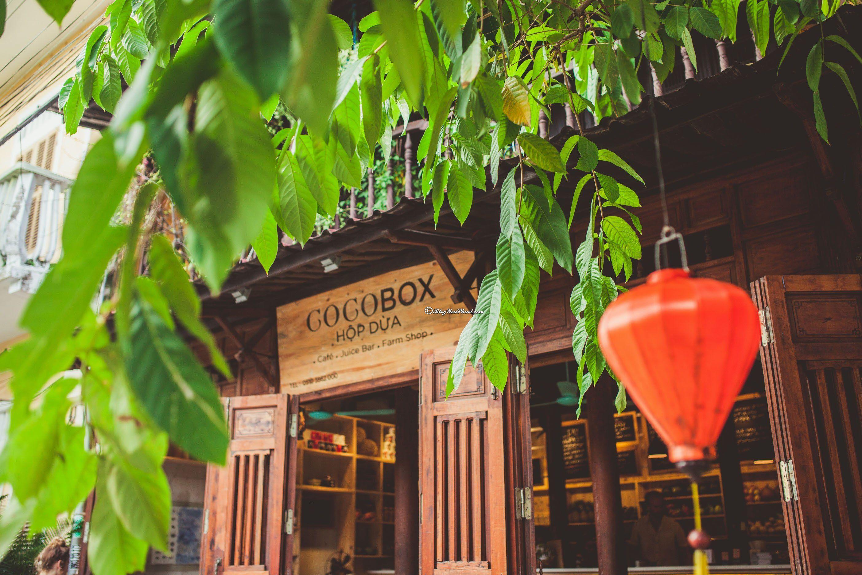 Quán café được yêu thích nhất ở Hội An: Đi đâu uống cà phê khi du lịch Hội An?