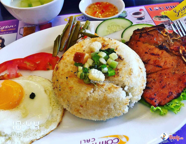 Quán cơm tấm ngon rẻ ở Sài Gòn