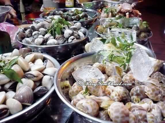 Quán hải sản bình dân ở Sài Gòn