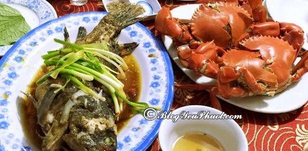 Ăn hải sản ở đâu ngon tại Nha Trang? Địa chỉ nhà hàng hải sản ở Nha Trang ngon, giá rẻ