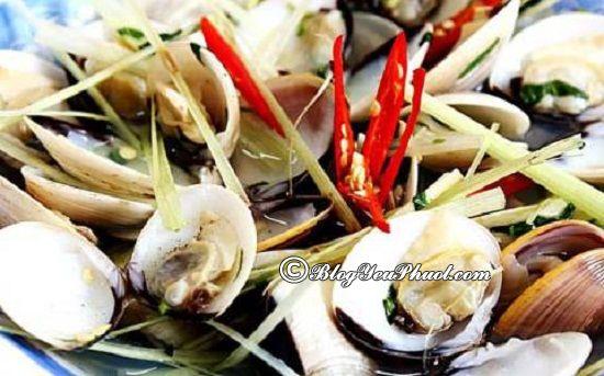 Quán hải sản ngon, giá rẻ ở Cửa Lò: Địa chỉ ăn hải sản nổi tiếng ở Cửa Lò