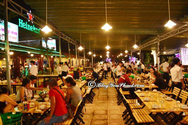 Quán nhậu đêm ngon, giá rẻ ở Sài Gòn