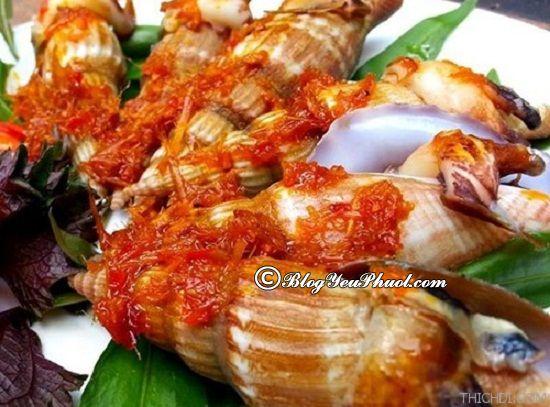 Ăn gì ở Phú Yên? Món ăn ngon nổi tiếng ở Phú Yên