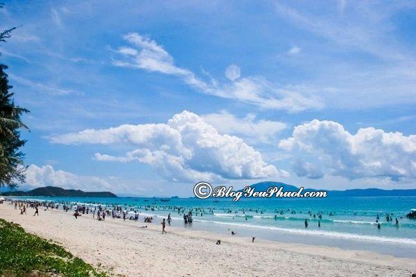 Bãi biển nhiều cát nhất ở Quảng Ninh: Địa chỉ những bãi biển nổi tiếng, đẹp nhất ở Quảng Ninh