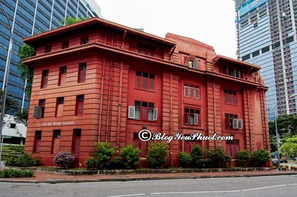 Nên tham quan bảo tàng nào ở Singapore? Địa chỉ những bảo tàng nổi tiếng ở Singapore