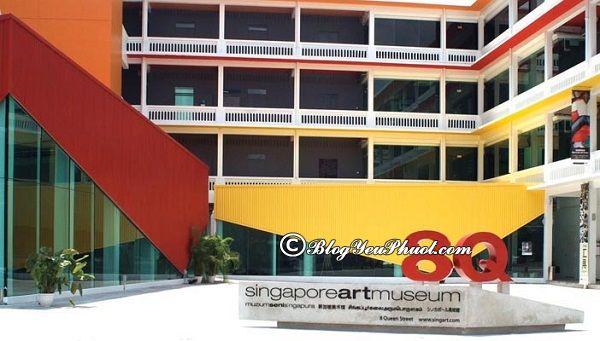 Bảo tàng đẹp nên ghé thăm ở Singapore: Địa chỉ những bảo tàng nghệ thuật nổi tiếng ở Singapore