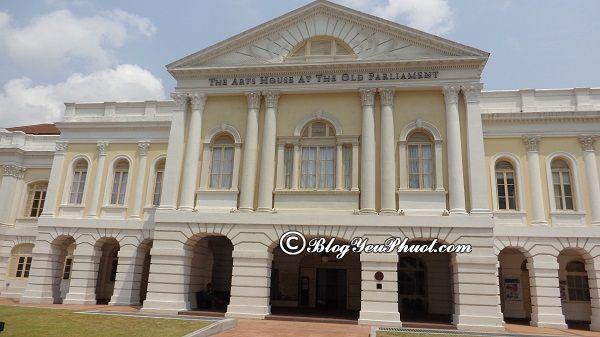 Bảo tàng đẹp nên ghé thăm ở Singapore: Du lịch Singapore nên đi tham quan bảo tàng nào?
