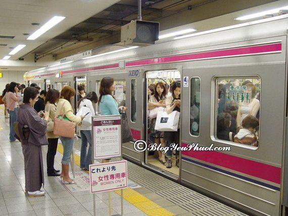 Kinh nghiệm đi tàu điện ở Nhật Bản: Hướng dẫn mua vé đi tàu điện khi du lịch Nhật Bản