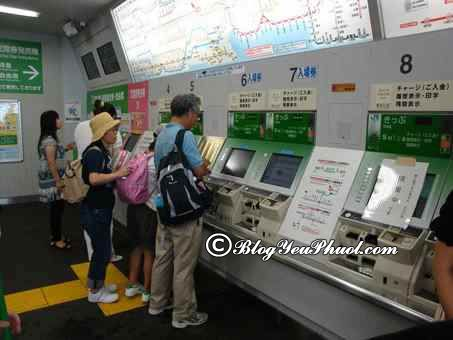Hướng dẫn đi tàu điện ở Nhật Bản: Kinh nghiệm du lịch Nhật Bản bằng tàu điện