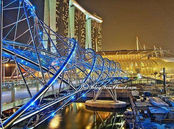 """Những điểm chụp ảnh """"hot"""" ở Singapore: Địa điểm được check in nhiều nhất ở Singapore"""