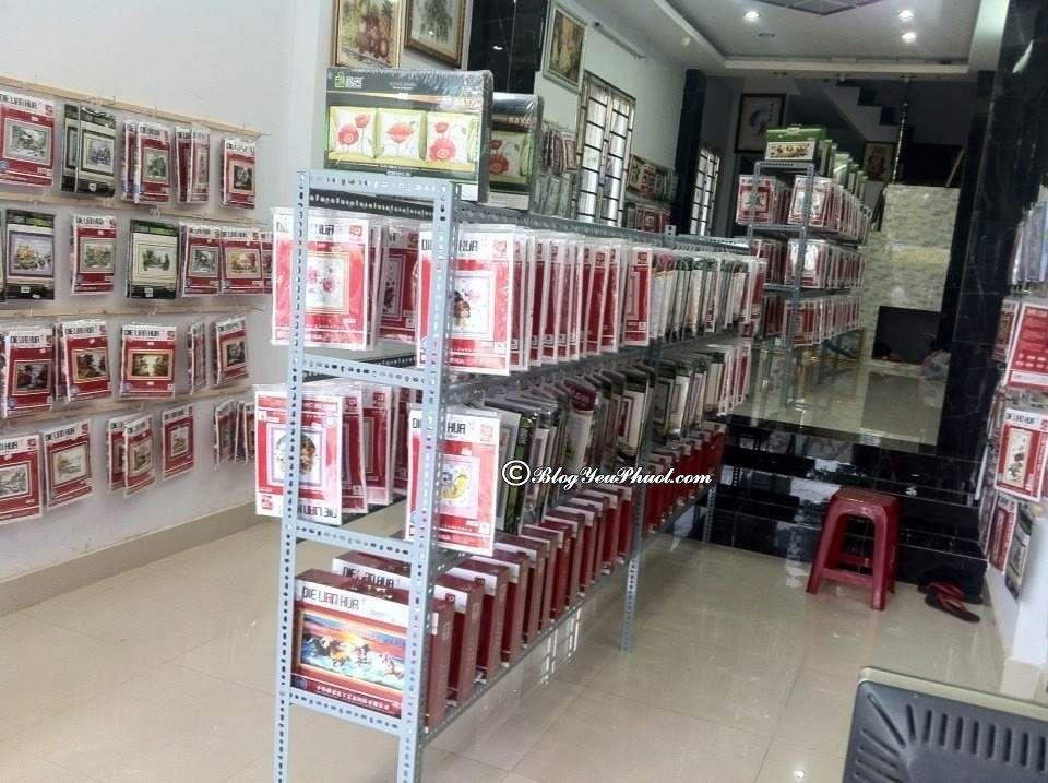 Địa chỉ mua tranh thêu chữ thập tại Đà Nẵng giá rẻ, nổi tiếng nhất