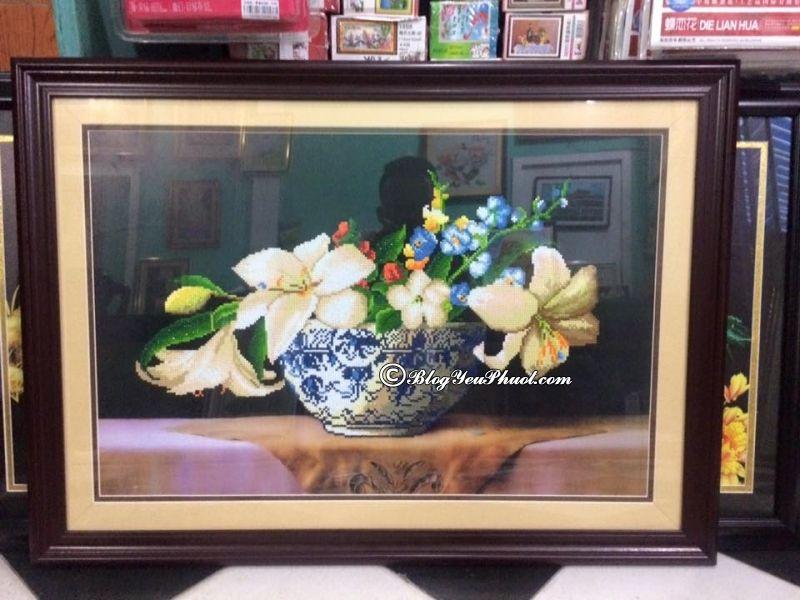 Cửa hàng bán tranh thêu chữ thập đẹp ở Đà Nẵng? Địa chỉ mua tranh thêu chữ thập nổi tiếng ở Đà Nẵng