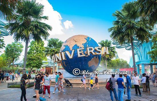 Đi du lịch Singapore nên mặc gì?