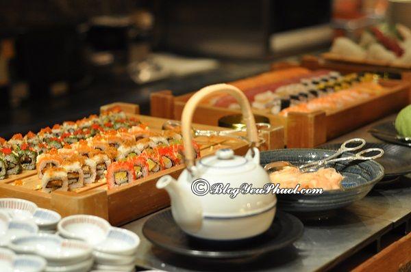 Địa chỉ ănbuffet tinh tế, sang trọng nhất Singapore: Ăn buffet ở đâu Singapore ngon, bổ, rẻ?