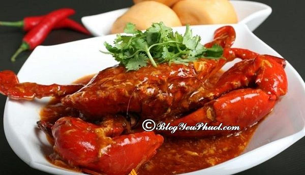 Cua sốt ớt – Tinh hoa ẩm thực Singapore: Địa chỉ ăn cua sốt ớt ngon, nổi tiếng ở Singapore