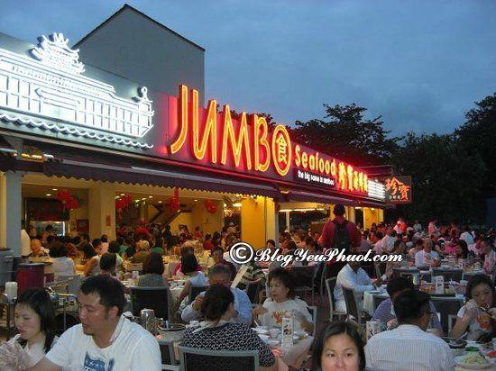 Nên ăn cua sốt ở đâu khi tới Singapore? Địa chỉ nhà hàng, quán ăn cua sốt ớt ngon nổi tiếng ở Singapore