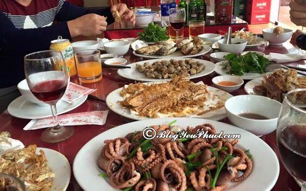 Địa chỉ ăn hải sản giá rẻ ở Hạ Long: Nhà hàng, quán ăn hải sản ngon, giá bình dân ở Hạ Long