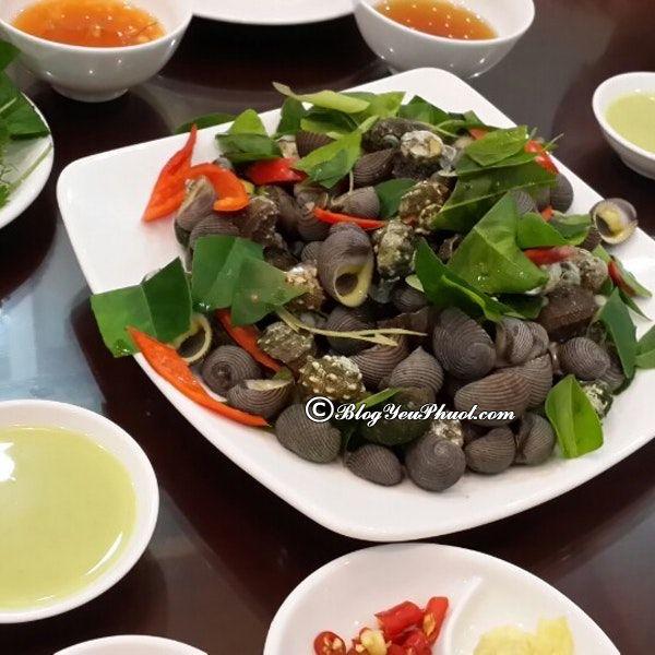 Địa chỉ ăn hải sản ngon ở Hạ Long: Ăn hải sản ở đâu Hạ Long ngon, giá rẻ?