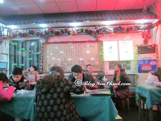 Ăn ở đâu ngon khi đến Bắc Kinh? Địa điểm ăn uống ngon, bổ, rẻ ở Bắc Kinh