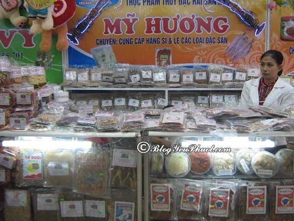 Địa chỉ bán đặc sản miền Trung ngon, hấp dẫn ở Đà Nẵng