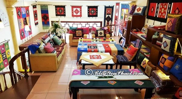 Cửa hàng thổ cẩm uy tín tại Sapa: Địa chỉ mua đồ thổ cẩm đẹp, chất lượng cao ở Sapa