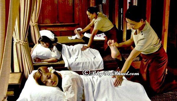 Địa điểm massage Thái nổi tiếng ở Bangkok: Địa chỉ massage kiểu Thái ở Bangkok giá rẻ, uy tín, thoải mái nhất