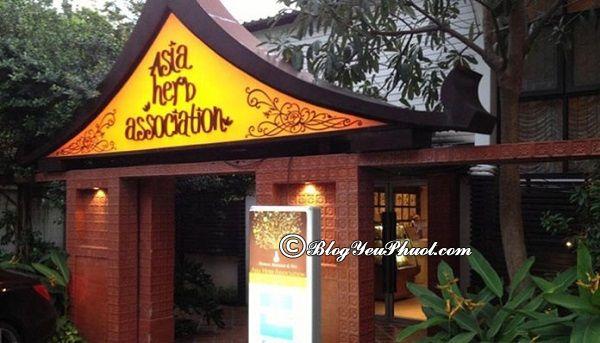 Trung tâm massage nổi tiếng, uy tín ở Bangkok: Địa chỉ massage thư giãn, giảm mệt mỏi ở Bangkok
