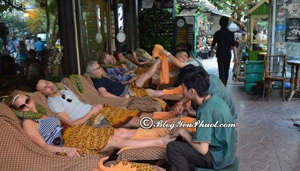 Địa chỉ massage ở Bangkok giá rẻ: Massage ở đâu Bangkok tốt, chất lượng?