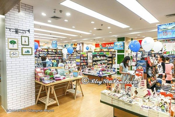 Địa chỉ mua sắm nổi tiếng, giá rẻ ở Chiang Mai. Nên đi mua sắm ở đâu khi du lịch Chiang Mai?