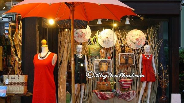 Địa điểmmua sắm giá rẻ, chất lượng ở Chiang Mai: Du lịch Chiang Mai đi đâu mua sắm?