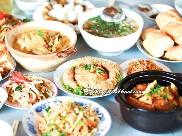 Địa chỉ nhà hàng, quán ăn ngon ở Huế: Ăn ở đâu ngon khi đến Huế du lịch?